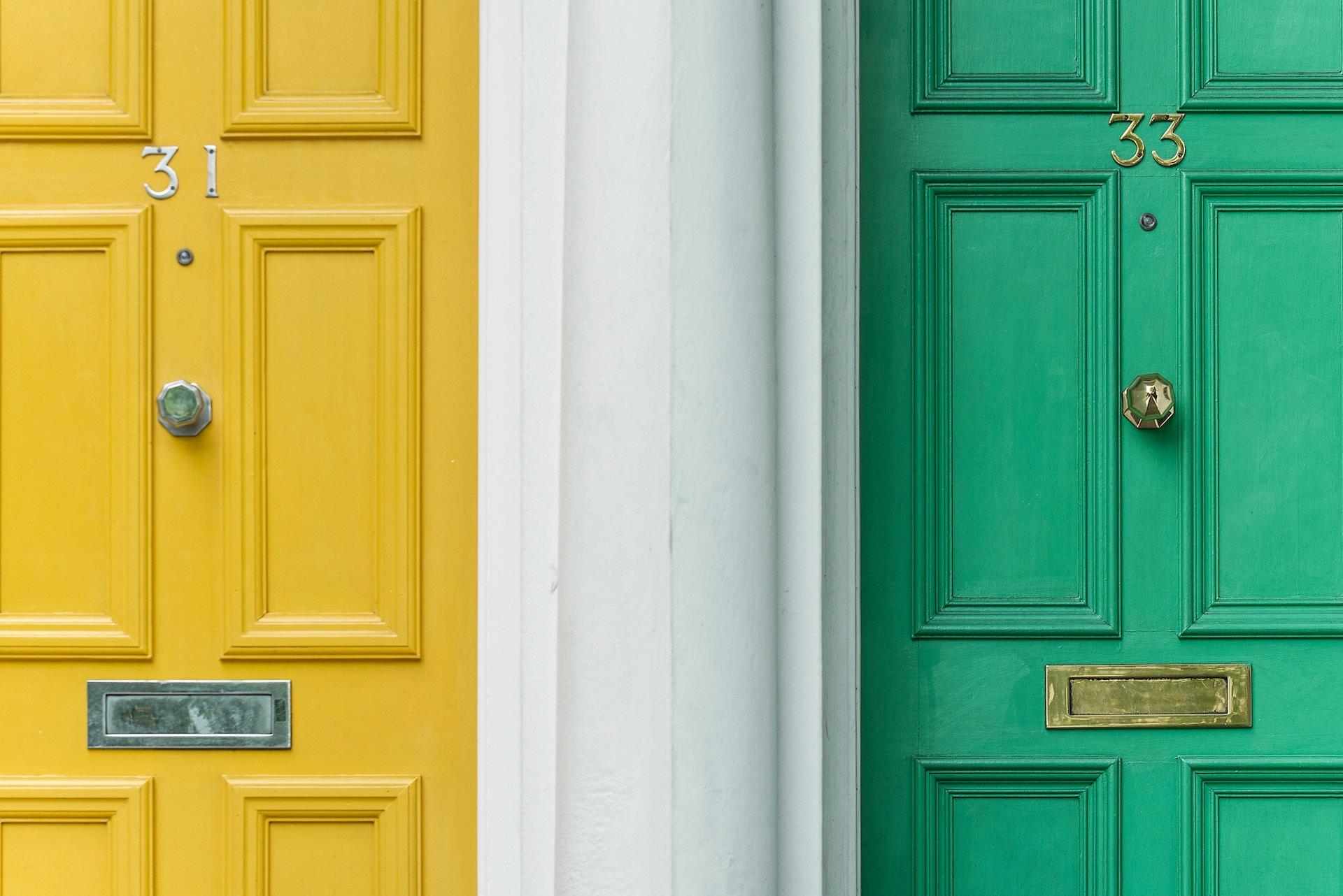 いろいろなドアの形と種類