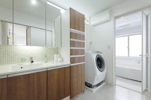 注文住宅の洗面所収納どうする?